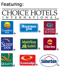 3 Day Vacations at Choice Hotels